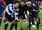 Messi, Suárez e Neymar fizeram trio de ataque histórico (Foto: AFP)